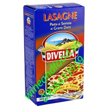 Mì lá Lasagne 109 Divella 500g