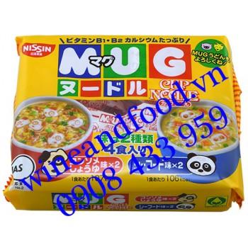 Mì Mug Nissin vàng Nhật Bản 94g
