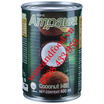 Nước cốt dừa Brand Ampawa Thái Lan 400ml
