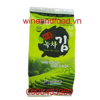 Rong biển trà xanh Hàn Quốc 5g