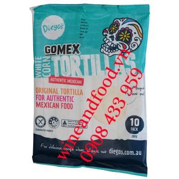 Vỏ bánh tráng cuộn Diego's Gomex Corn Tortillas 280g