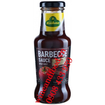 Sốt Barbecue Smoky Spicy Kiihne 250ml