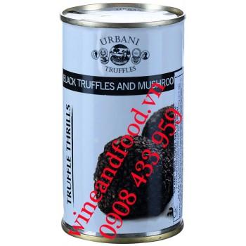 Sốt nấm Truffles đen và nấm Urbani 180g