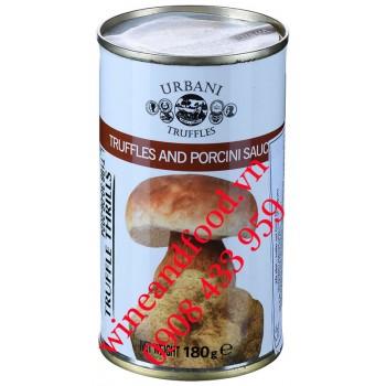 Sốt nấm Truffles và Porcini Urbani 180g