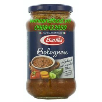 Sốt trộn mì Ý thịt bò bằm Bolognese Barilla 400g