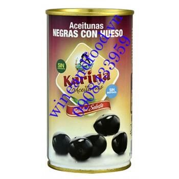 Trái Oliu đen nguyên hạt Karina 350g