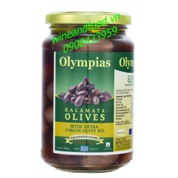 Trái oliu nguyên hạt Olympias 250g