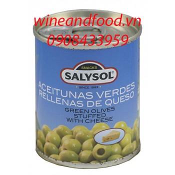 Trái Oliu nhồi phô mai Salysol 120g