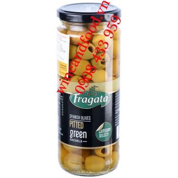 Trái Oliu tách hạt Fragata hũ 440g