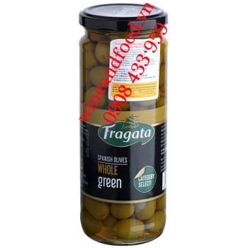 Trái Oliu xanh nguyên hạt Fragata 450g
