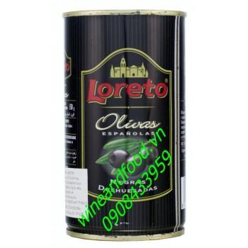 Trái Oliu xanh tách hạt Loreto 450g