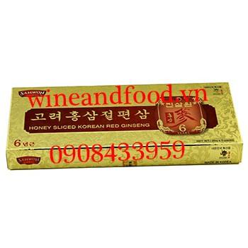 Hồng sâm tẩm mật ong Samwon 5 gói