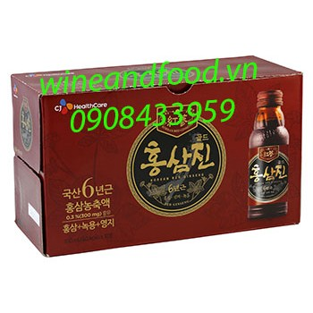 Nước hồng sâm Hongsamjin CJ Healthcare