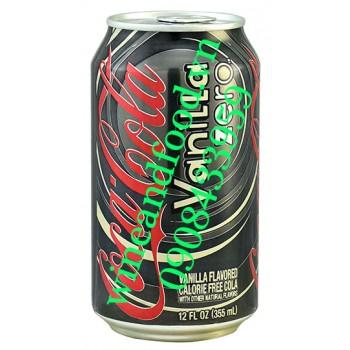 Coca Cola vani Zero không đường Mỹ 355ml