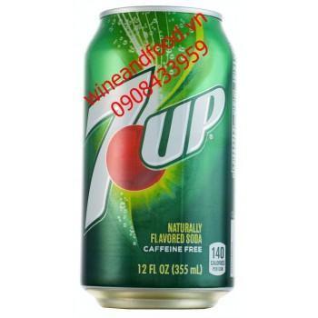 Nước ngọt 7 Up Caffeeine free 355ml