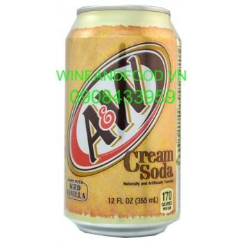 Nước ngọt A & W Cream soda 355ml