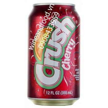 Nước ngọt có ga Crush cherry 355ml