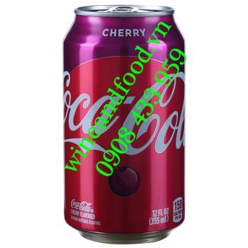 Nước ngọt Coca Cola Cherry 355ml