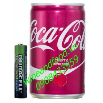 Nước ngọt Coca Cola Cherry Pháp 150ml