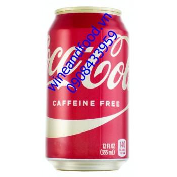 Nước ngọt Coca Cola không caffeine 355ml