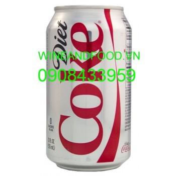 Nước ngọt Coca Cola Mỹ không đường 355ml