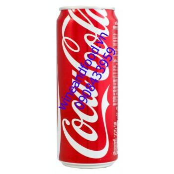 Nước ngọt Coca Cola Thái lon cao 325ml