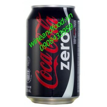 Nước ngọt Coca Cola zero không đường 330ml