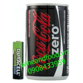 Nước ngọt Coca Cola zero Pháp không đường 150ml