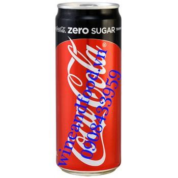Nước ngọt Coca Cola Zero Sugar Malaysia 320ml