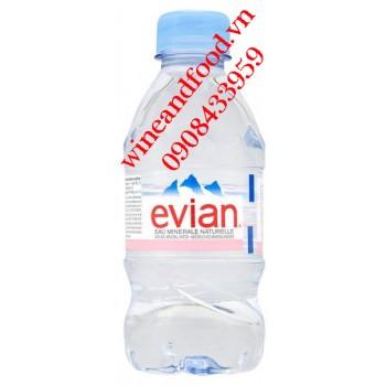 Nước suối khoáng Evian 330ml chai nhựa