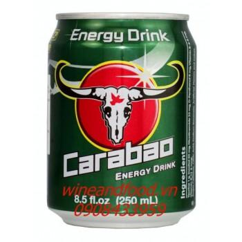 Nước tăng lực Carabao 250ml