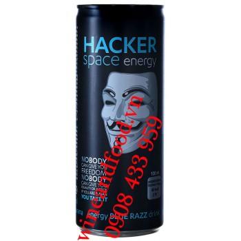 Nước tăng lực Hacker Space Blue Razz 250ml