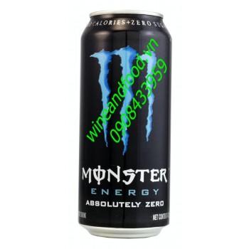 Nước tăng lực không đường Monster Absolutely Zero 473ml