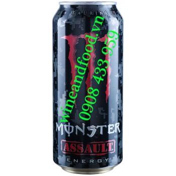 Nước tăng lực Monster Assault 473ml