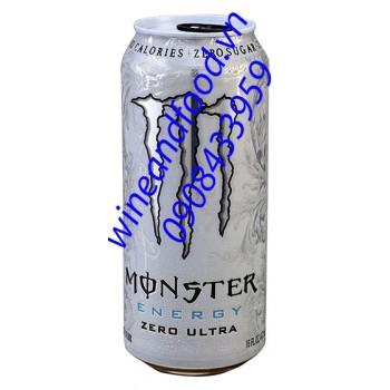 Nước tăng lực Monster Zero Ultra 473ml