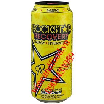 Nước tăng lực Rockstar Recovery chanh 473ml