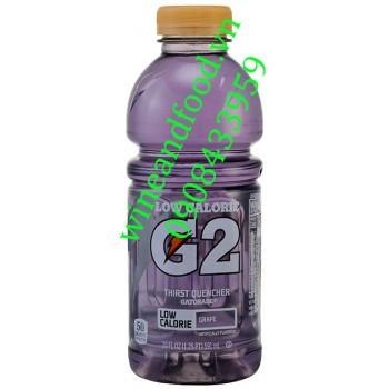 Nước ngọt Gatorade G2 Low Calorie nho 591ml