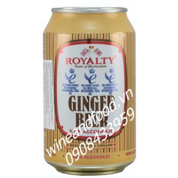 Bia gừng Ginger beer Royalty 330ml