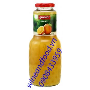 Nước cam ép Granini nhập từ Pháp 1l