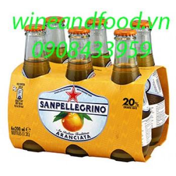 Nước cam ép San Pellegrino có ga 200ml