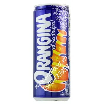 Nước cam Orangina lon cao 330ml