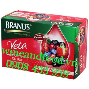 Nước cốt Berry cô đặc Brand hộp 6 hũ 42ml