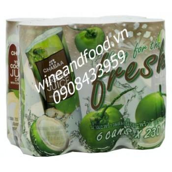 Nước dừa Chabaa 230ml