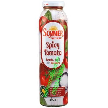 Nước ép cà chua ớt cayenne Sommer Naturals 300ml