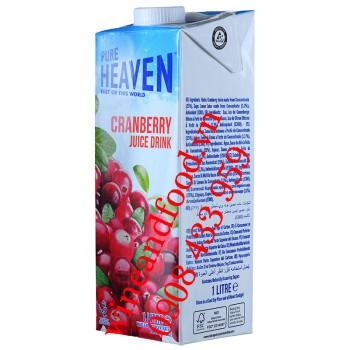 Nước ép cranberry Pure Heaven 1l