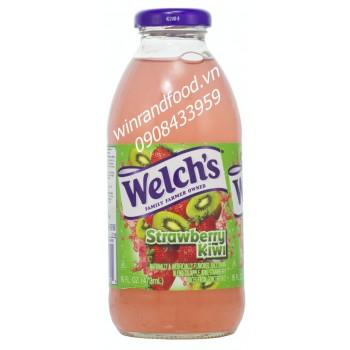 Nước ép dâu kiwi Welch's 473ml