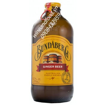 Bia Gừng Ginger Beer Bundaberg 375ml