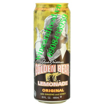 Nước trái cây Arizona Golden Bear Lemonade 680ml
