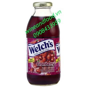 Nước trái cây Cranberry Welch's 473ml