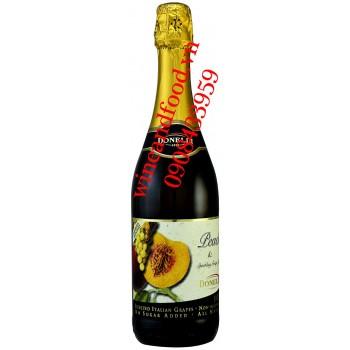 Nước trái cây Nho Đào Donelli có ga 750ml
